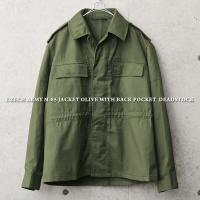 ■商品説明 実物 新品 チェコ軍 M-85 ジャケット オリーブのご紹介です。軍放出品ながら野暮った...