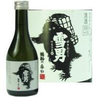 日本酒 鶴齢 本醸造 雪男 300ml