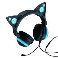 【商品名】LED付き 高機能 ネコ耳ヘッドフォン 『AXENT WEAR』 Cat Ear Head...