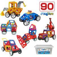 【対象年齢】3歳以上 【素材】ABS、マグネット 【セット内容】 正方形×18個、三角形×12個、ガ...