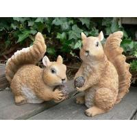 森の仲間たち なかよしペアーリス2匹セットででございます。森の表情を表現できる可愛いいりすのペアーの...