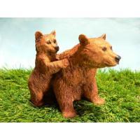 イタリア CASTAGNA(カスターニャ)社製のクマの親子の置物でございます。MADE IN ITA...