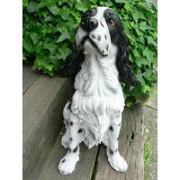 商品詳細商品説明高級な大型犬イングリッシュスプリンガースパニエルの犬の置物でございます。本物みたいな...