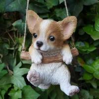 商品詳細商品説明犬の置物 エンジョイブランコ チワワでございます。ブランコを楽しむかわいいわんちゃん...