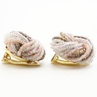 イヤリング ベネチアンガラス (ピンクビーズ) キアラ・デザイン イタリア製|walk2|04