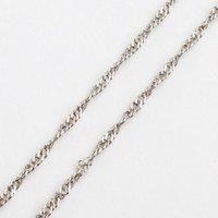 純プラチナ ネックレス スクリューチェーン 45cm 2.1g 造幣局検定 刻印|walk2|04