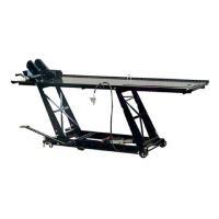 ≪仕様≫ 能力:450kg 最高位:750mm 最低位:180mm 重量:137kg 本体サイズ:全...