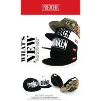 キャップ ローキャップ 帽子 スナップバック キャップ PREMIER DRUNKEN レディース キャップ メンズ キャップ ローキャップ