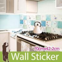 キッチン・洗面所・トイレなどの模様替えに最適のDIY壁紙デコレーションステッカー(リメイクシート)で...