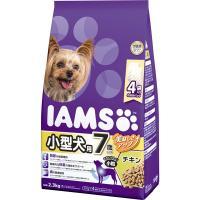 7歳以上の小型犬にぴったりな製品設計。ワンちゃんが大好きなチキンを使用。 <総合栄養食>  【保証分...