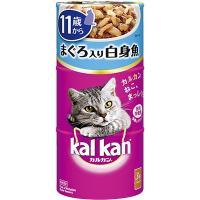 厳選されたまぐろと白身魚の上品な味わい。11歳以上の猫に必要な栄養素をバランス良く配合した総合栄養食...