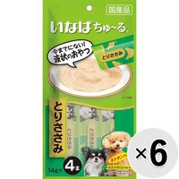 いなば 犬用ちゅ〜る (14g×4本)×6コ