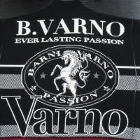バーニヴァーノ フルジップカーディガン 黒 LLサイズ BAW-GSW2628-09 BARNI VARNO