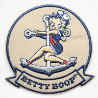 アメリカ生まれのセクシーでかわいい女の子「ベティブープ(Betty Boop)」のオフィシャル刺繍ワ...