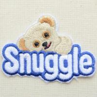 サイズ(約):タテ5cm×ヨコ7cm  アメリカ生まれの衣類用柔軟剤ブランド「Snuggle(スナッ...