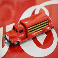[コカ・コーラ] ミニチュアカー 1937年 ボトルトラック(1/87スケール) / [Coca-C...