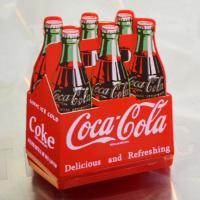 [コカ・コーラ] マグネットクリップ(ボトルパック) / [Coca-Cola] Magnet Cl...