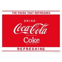 [コカ・コーラ] ポスター(ポーズ) / [Coca-Cola] Poster(The Pause)...