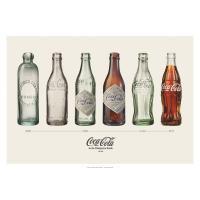 [コカ・コーラ] ポスター(ボトルヒストリー・ランドスケープ) / [Coca-Cola] Post...