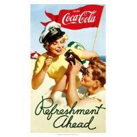 [コカ・コーラ] ポスター(リフレッシュメント) / [Coca-Cola] Poster(Refr...
