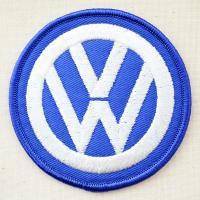 ドイツの高級自動車メーカー「フォルクスワーゲン(Volkswagen)」のエンブレムロゴ刺繍ワッペン...