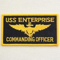 アメリカンなミリタリー(Military)刺繍ワッペン・パッチ。 USネイビー(U.S.Navy)=...
