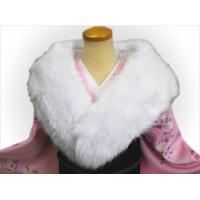和洋兼用で使え、ゴージャスで軽くて温かなショール。 これ1つで更に豪華さ&上品さUP。  白の羽毛シ...