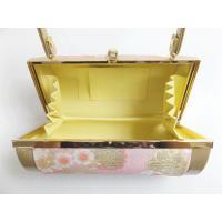草履 バッグ セット 帯地 振袖 成人式 袴 フリー 24cm 横丸形 薄ピンク色地桜八重桜