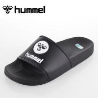ヒュンメル サンダル シャワーサンダル スポーツサンダル メンズ hummel SHOWER SANDAL ブラック×ブラック  HAS4021-9090 黒