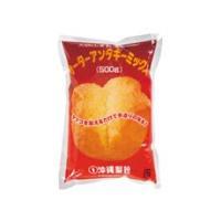 沖縄の代表的な揚げ菓子、サーターアンダギー(沖縄風ドーナツ)が作れるミックス粉です。卵を加えてキツネ...