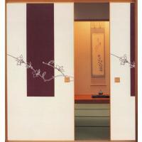 「新感覚ふすま紙」  紙寸法 巾 100cm×丈 203cm 柄の高さ 上から1...