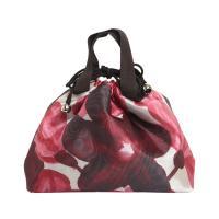 オーガンジー生地を使用したバッグイン巾着です。  サイズ:タテ約22.5×ヨコ約20×マチ約5cm ...