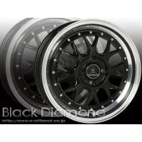 ホイールブランド Black Diamond BD00 カラー ブラックポリッシュ ホイールサイズ ...