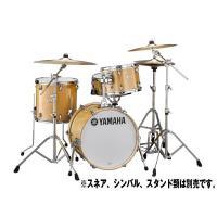 シェルにはヤマハドラムの代名詞とも言えるバーチ材100%、6プライシェルを採用。 バーチ材特有の中低...