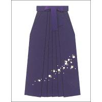 女性用袴 刺繍 紫|watarase-doh