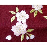女性用袴 刺繍 紫|watarase-doh|02