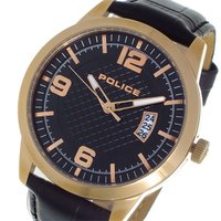 ポリス POLICE クオーツ メンズ ウォッチ 時計 ブラック/ピンクゴールド  商品仕様:(約)...