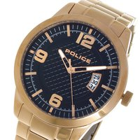 ポリス POLICE クオーツ メンズ ウォッチ 時計 ブラック  商品仕様:(約)H45×W45×...