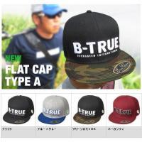 【EVERGREEN B-TRUE FLAT CAP TYPE A】 シルエットはもちろん、生地や刺...