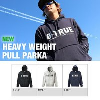 【EVERGREEN B-TRUE HEAVY WEIGHT PULL PARKA】 11.5ozヘ...