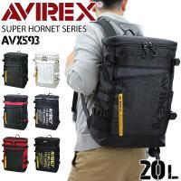 ■ITEM:AVIREX (アヴィレックス) スーパーホーネット スクエアリュック AVX593 ・...
