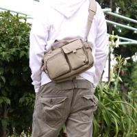 ◇ポイント/両手フリーで楽チン♪ポケットが機能が充実したショルダーバッグです。小物が多い人にオススメ...
