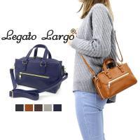 ■Legato Largo 多収納 お財布ショルダーバッグ LR-K0801 長財布・ペットボトル・...