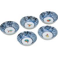 ■JAPAN-KUTANI 普段、最も使用頻度の高い小鉢5個セットです!卓上を彩る名脇役でもあり、食...
