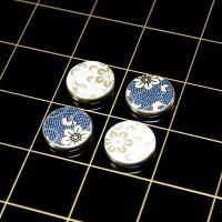 ≪加賀百万石のボードゲーム≫ この度、九谷焼にて高級ボードゲーム『リバーシ』を完成させました。コマ部...