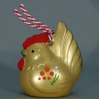 各地にある金鶏伝説。 鶏は、黄金とは切っても切れない関係にあります。 小さめなサイズですので、どこに...
