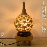 群馬県太田市で、ひょうたんの栽培から加工仕上げまで行う、天笠修次氏の瓢箪置物です。  瓢箪はその末広...