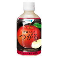 りんご ジュース 送料無料 青森りんご つがる 280ml 24本入 果汁100% リンゴ ジュース セット ギフト 内祝い お歳暮 御歳暮 飲み物
