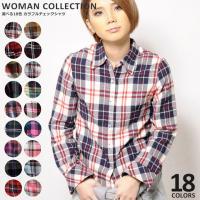 商品名:選べる18色 カラフルチェックシャツ  (サイズ) Mサイズ 着丈 約62cm 胸囲 約85...