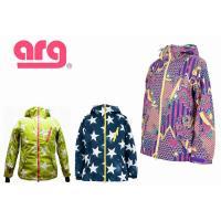 2015 ARG WOMEN'S ARGPRINT JACKET UGQ451 58/インティゴ  ...